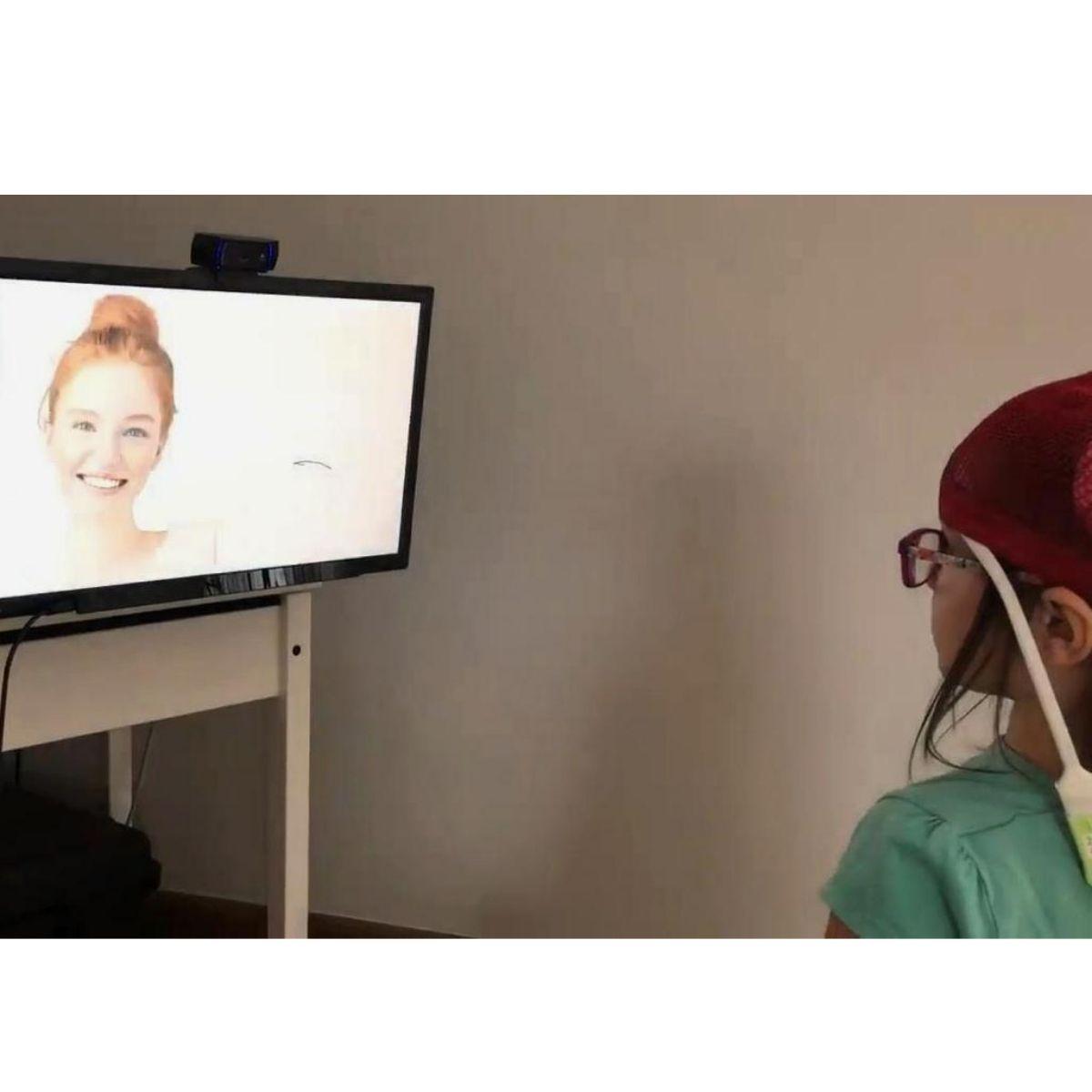 Eyetracker i początki przygody z terapią wzroku Iwonki.