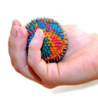 Kolorowa Pileczka Lyapko W Fizjoterapii Dizeciecej Leczenie Nadwrazliwosci Sensorycznej