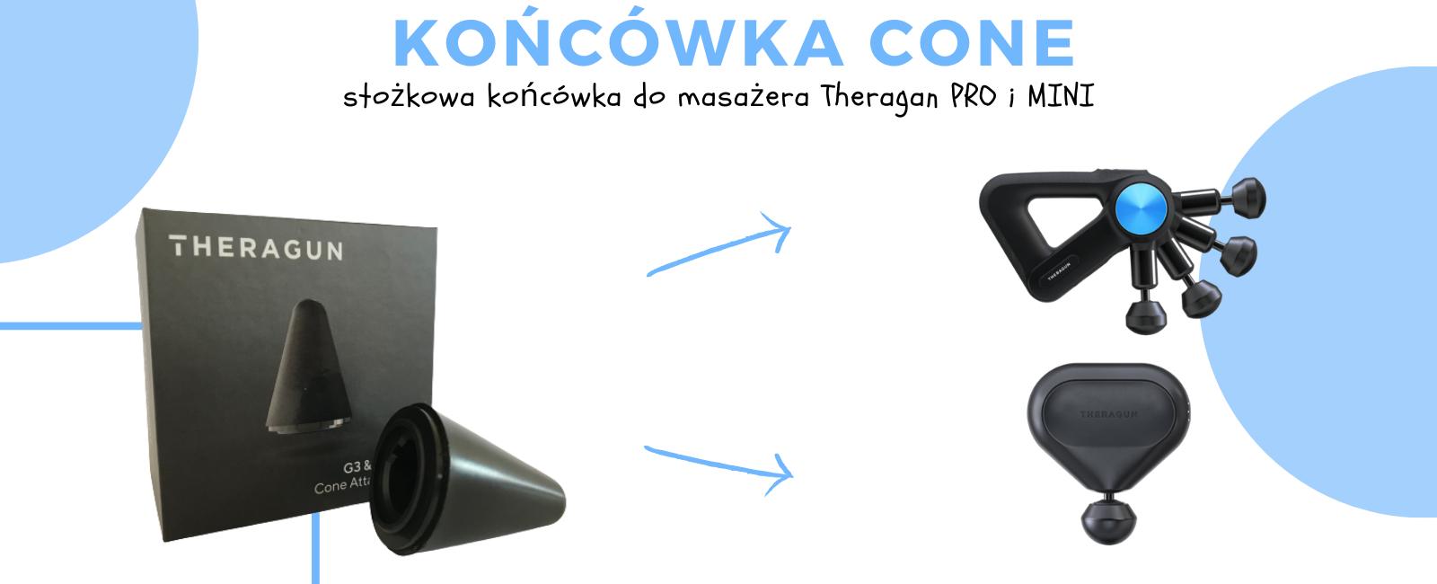 Koncowka Do Masazera Dla Dzieci Theragun Pro I Mini Stozkowa Cone.jpg