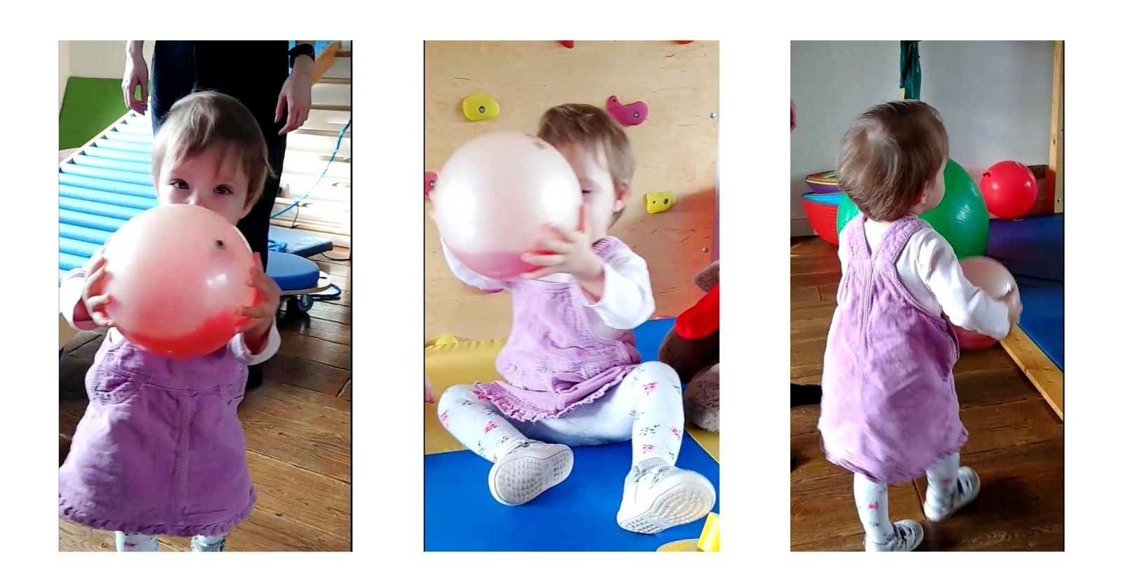 Kreatywne Cwiczenia Z Z Pilkami Gimnastycznymi Reax Fluiball 16cm