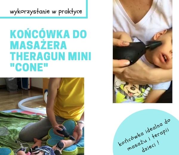 Praktyczne Wykorzystanie Masazera Theragun Mini W Fizjoterapii Dzieciecej Z Koncowka Cone