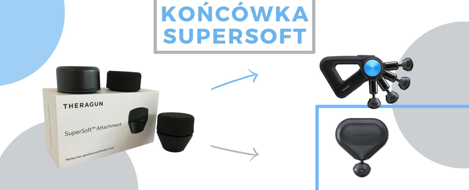 Supersoft Koncowka Do Masazera W Ksztalcie Poduszki Bardzo Miekka Koncowka Do Masazera Theragun Pro I Theragun Mini.jpg