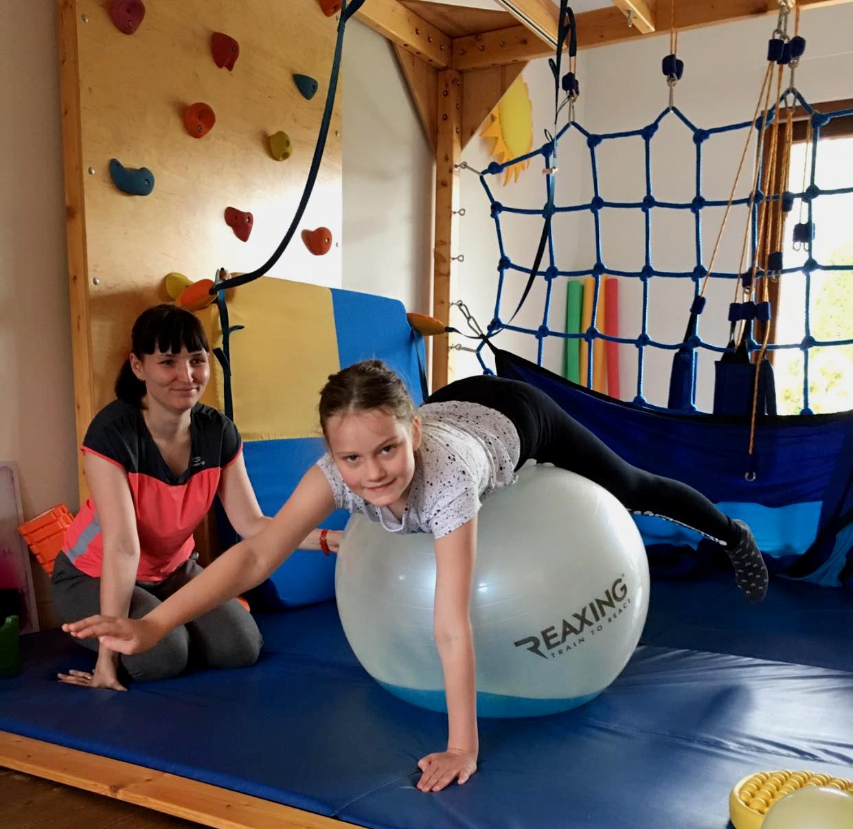 Terapia Dzieci Z Pilka Reax Fluiball 65cm