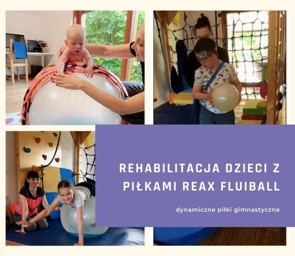 Terapia Dzieci Z Pilkami Reax Fluiball