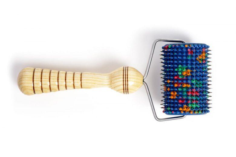 Uniwersalny Aplikator Lyapko Wieloiglowy Walek Sensoryczny Stosowany W Terapii Dzieci